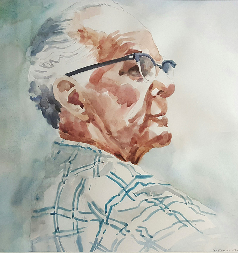 Portrait of my dad A.B.Platt