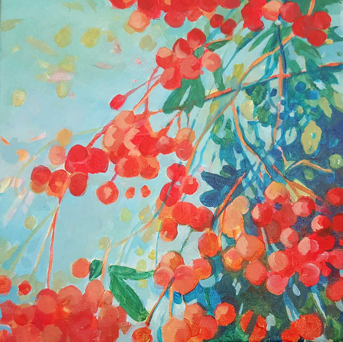 Pyracantha Painting